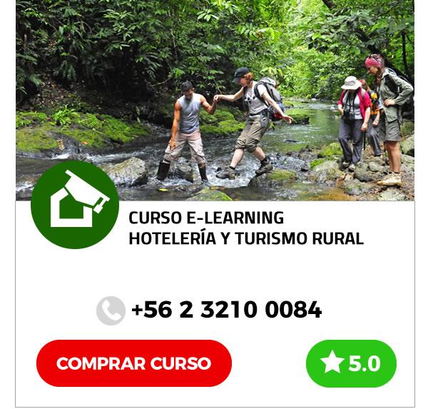 Curso E-learning Hotelería y Turismo Rural